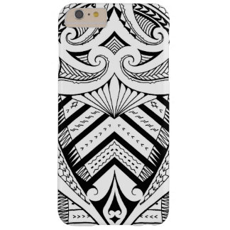 Samoan tattoo design art pattern barely there iPhone 6 plus case
