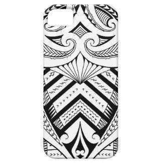 Samoan tattoo design art pattern iPhone 5 cases