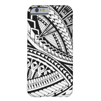 Samoan tattoo pattern barely there iPhone 6 case