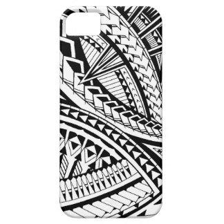 Samoan tattoo pattern iPhone 5 cases