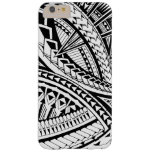 Samoan tattoo pattern barely there iPhone 6 plus case