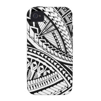 Samoan tattoo pattern iPhone 4/4S covers