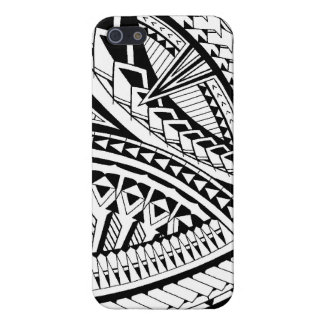 Samoan tattoo pattern case for iPhone SE/5/5s