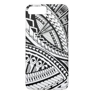 Samoan tattoo pattern iPhone 8 plus/7 plus case