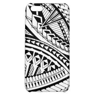 Samoan tattoo pattern case for iPhone 5C