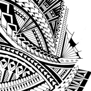 Polynesian Tribal Art Wall Decor Zazzle