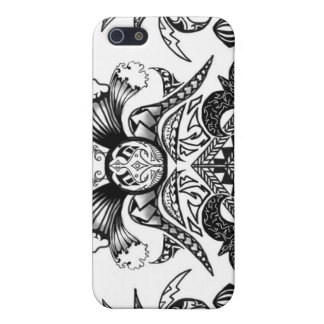 Samoan Tribal Tattoo Design Cover For iPhone SE/5/5s