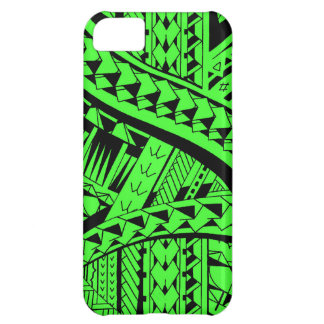 Samoan tribal tattoo pattern with spearheads art iPhone 5C cover