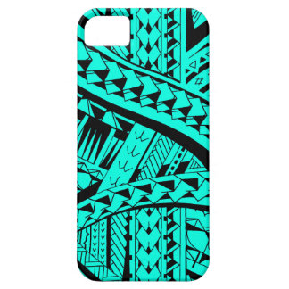 Samoan tribal tattoo pattern with spearheads art iPhone SE/5/5s case