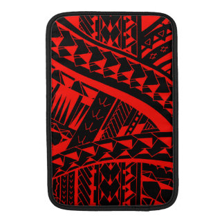 Samoan tribal tattoo pattern with spearheads art MacBook air sleeve