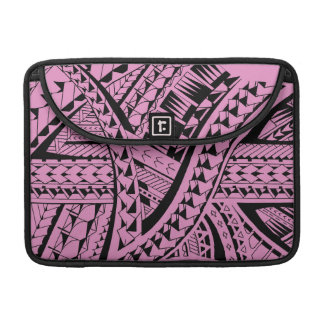 Samoan tribal tattoo pattern with spearheads art MacBook pro sleeve