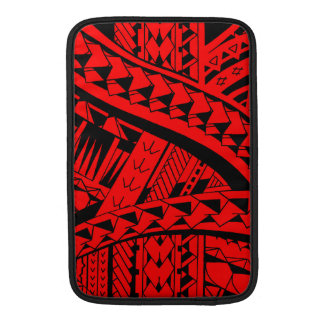 Samoan tribal tattoo pattern with spearheads art sleeve for MacBook air