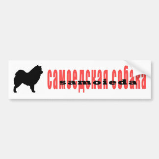 samoieda bumper sticker