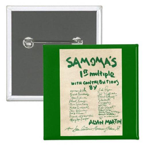 SAMOMA Multiple Pinback Button