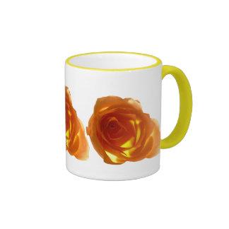 Samon Rose Ringer Coffee Mug