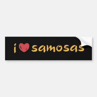Samosa Love Bumper Stickers