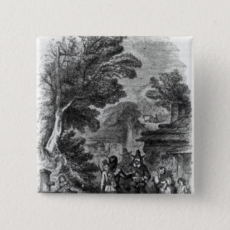 Samoset, the Indian Visitor Pinback Button