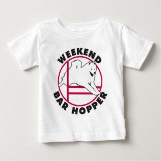 Samoyed Agility Weekend Bar Hopper Shirt