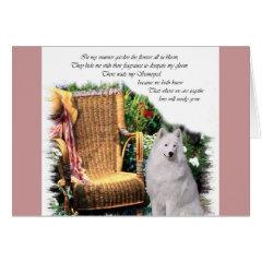 Samoyed Art Gifts card