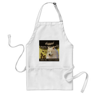 Samoyed Brand – Organic Coffee Company Adult Apron
