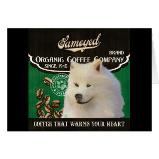 Samoyed Brand – Organic Coffee Company Card