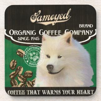 Samoyed Brand – Organic Coffee Company Drink Coasters