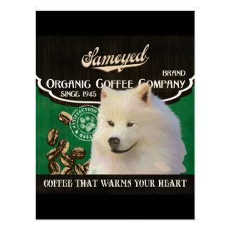 Samoyed Brand – Organic Coffee Company Postcard