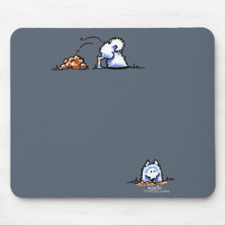 Samoyed Can U Dig It Mouse Pads