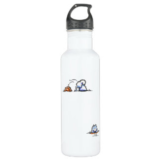 Samoyed Can U Dig It 24oz Water Bottle