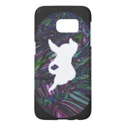 Case-Mate Barely There Samsung Galaxy S7 Case with Samoyed Phone Cases design