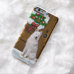 Samoyed Christmas Barely There iPhone 6 Case