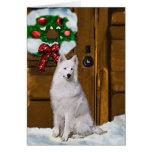 Samoyed Christmas Gifts Card