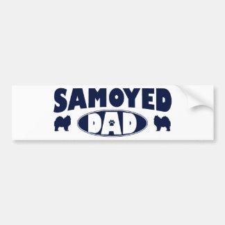 Samoyed Dad Bumper Sticker
