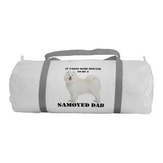 Samoyed Dad Duffle Bag