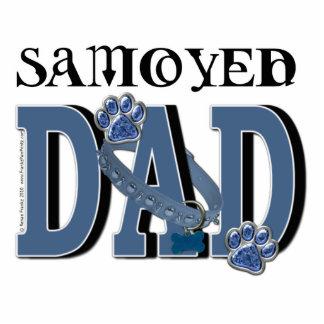 Samoyed DAD Photo Cutouts