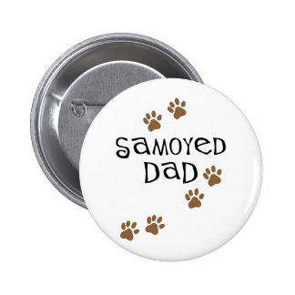 Samoyed Dad Pins