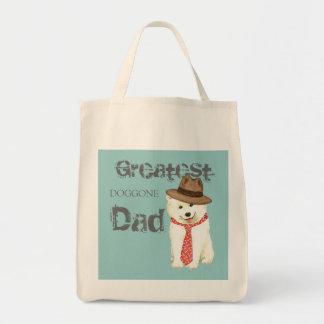 Samoyed Dad Tote Bag