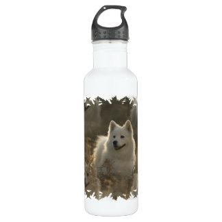 Samoyed Dog Breed 24oz Water Bottle