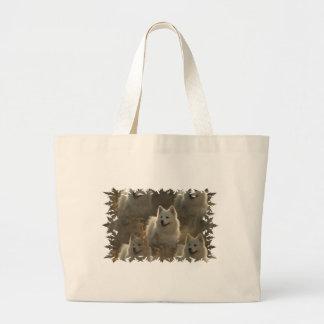 Samoyed Dog Breed Jumbo Bag
