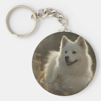 Samoyed Dog Breed Keychain