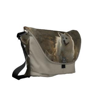 Samoyed Dog Breed Messenger Bag