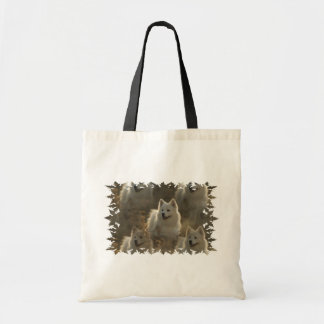 Samoyed Dog Breed Small Canvas Bag