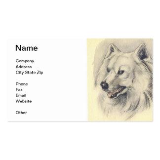 Samoyed Dog Business Card