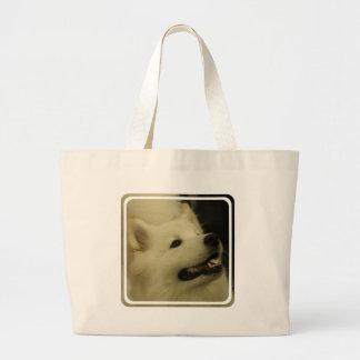 Samoyed Dog Canvas Bag