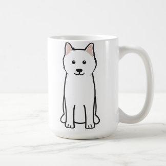 Samoyed Dog Cartoon Mugs