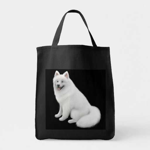 Samoyed Dog Grocery Tote Grocery Tote Bag
