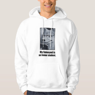 Samoyed Dog Honor Student Hoodie