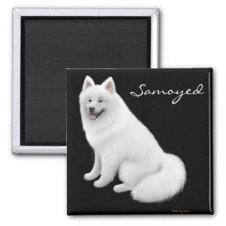 Samoyed Dog Magnet