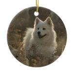 Samoyed Dog Ornament