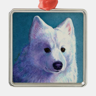 "Samoyed Dog Ornament - ""Buddha"""